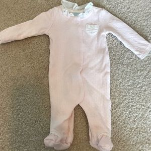 Edgehill Collection Preemie Footed One-Piece